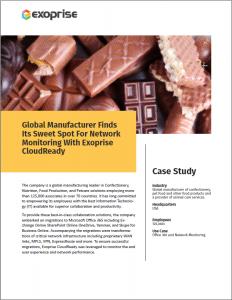 Exoprise Case Study Global Manufacturer