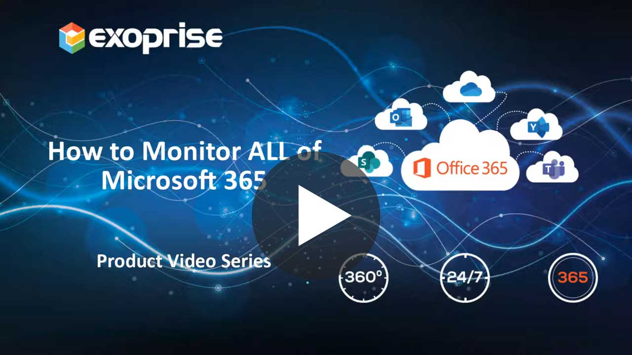 How To Monitor ALL Of Microsoft 365