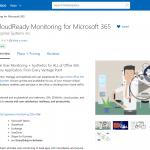 Exoprise Available In Azure Marketplace CloudReady Monitoring For Microsoft 365