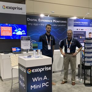 Exoprise Booth Ignite 2019