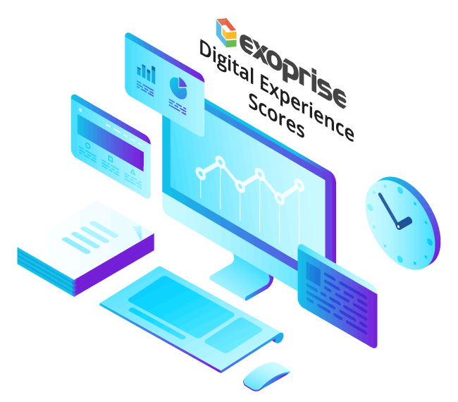 Exoprise Digital Experience Scores