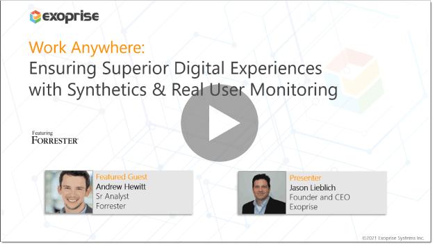 [WEBINAR]: Ensure Superior Digital Experiences with Synthetics + RUM