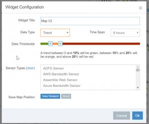 Map Widget Configuratoin