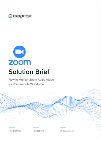 How To Monitor Zoom Solutions Brief