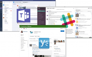 Monitor Microsoft Teams, Slack, and Yammer | Exoprise