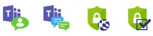 Teams Monitoring Icons